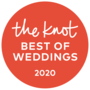 The Knot best of weddings award for 2020