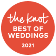 The Knot best of weddings award for 2021