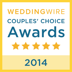 Wedding Wire Couples Choice Award for 2014