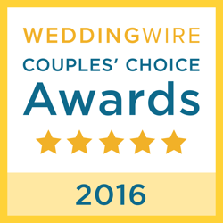 Wedding Wire Couples Choice Award for 2016