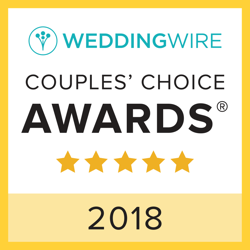 Wedding Wire Couples Choice Award for 2018